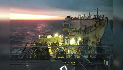 seabed. El buque noruego que contrató la firma Ocean Infinity está equipado con modernos submarinos y un un laboratorio informático de última generación.