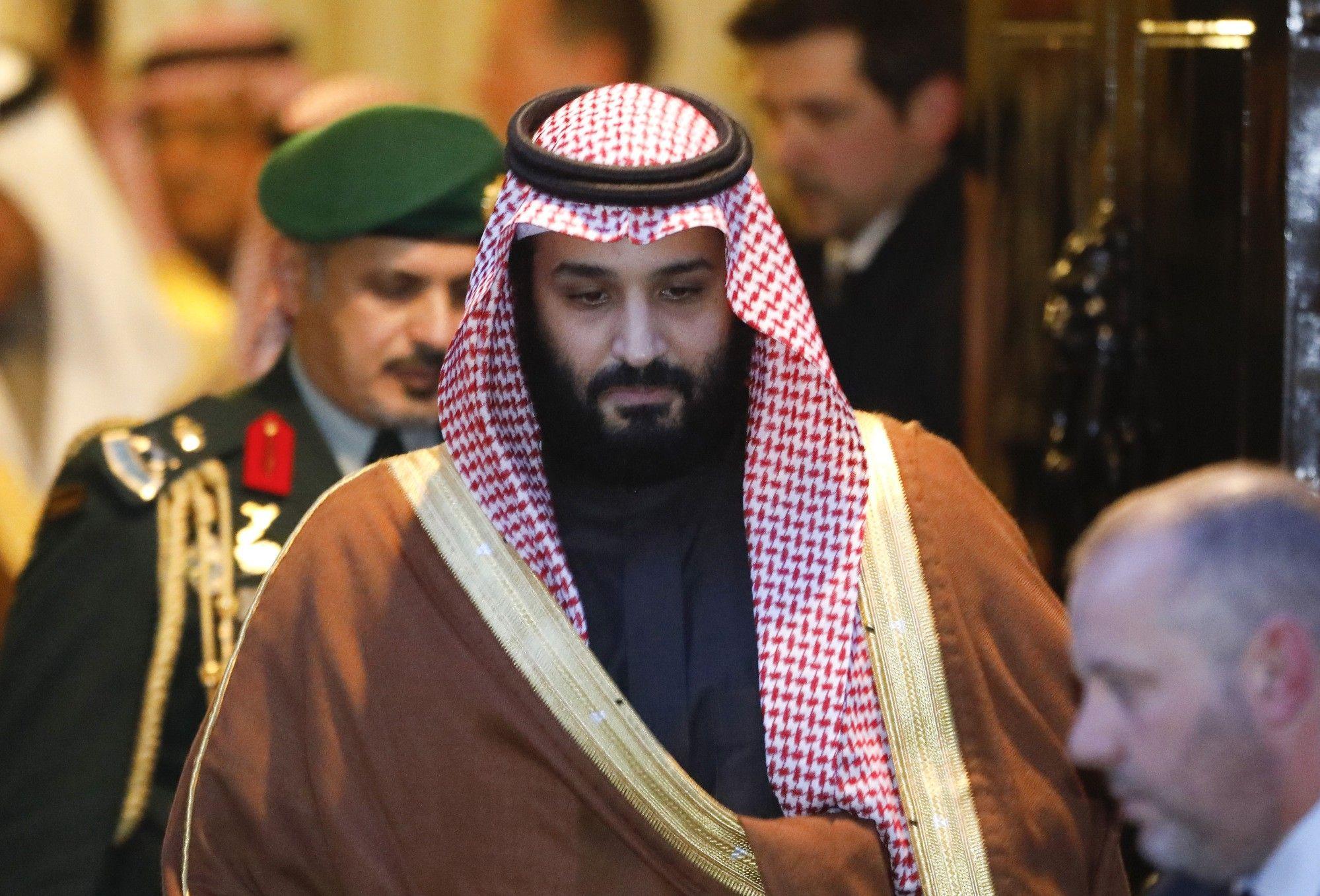 El príncipe Mohammed es el hijo y heredero del rey Salman de Arabia Saudita.