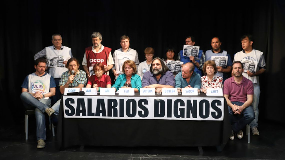 Union representatives for teachers in Buenos Aires Province have called a 48-hour strike for this week, starting Thursday.