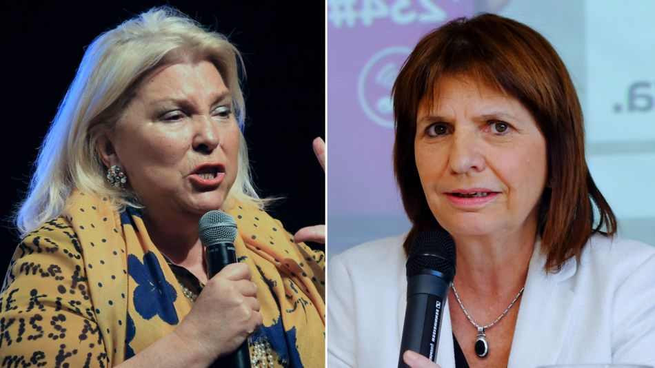 Elisa Carrió y Patricia Bullrich 10182018