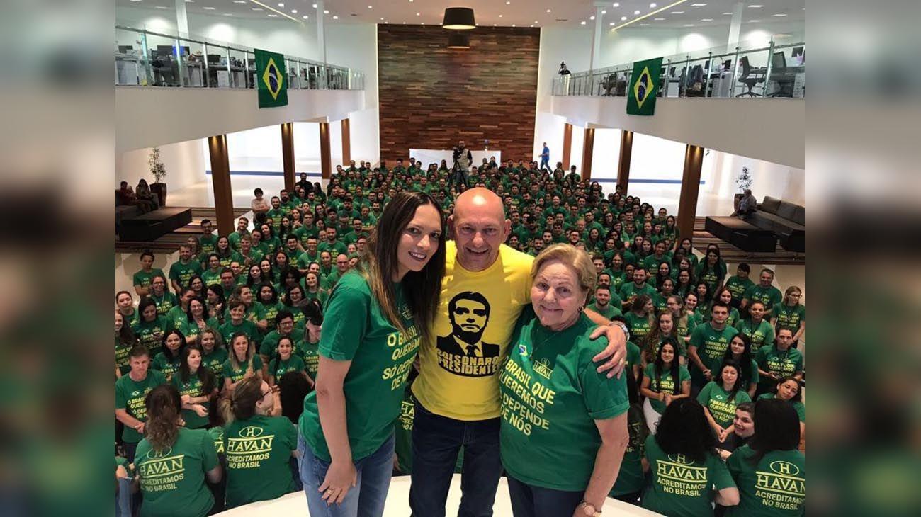 Controvertido. Hang presionó a sus empleados para que votaran por Bolsonaro en la primera vuelta. La Justicia ordenó que no direccionase sus votos.
