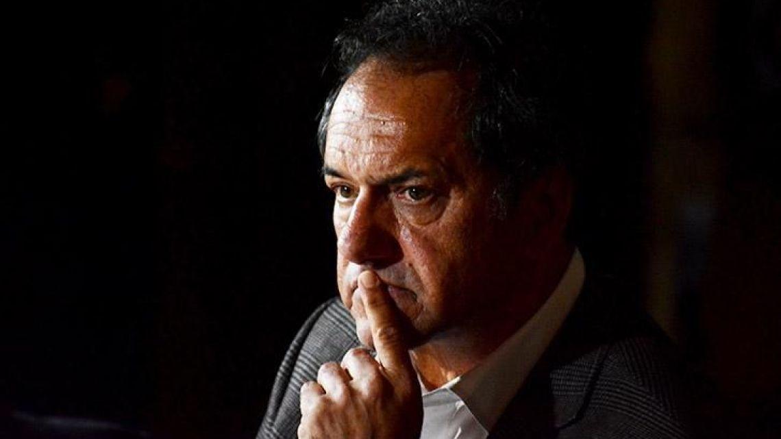 Former Buenos Aires province governor Daniel Scioli.