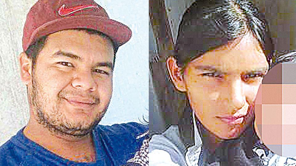 Acusados. Fabián González, presunto homicida, y Leonela, su esposa y madrina de la víctima.