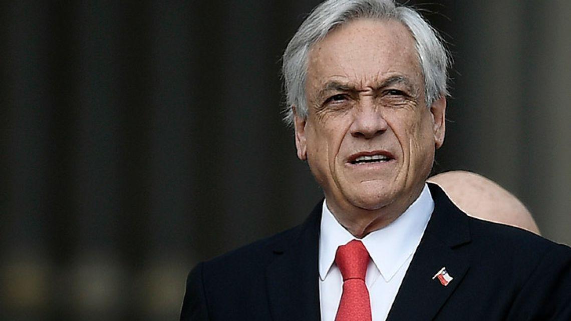 Chilean President Sebastian Piñera.