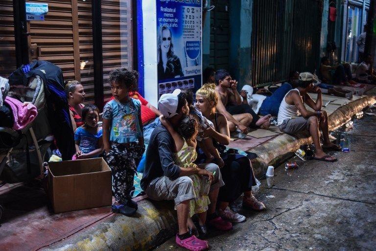 caravana migrantes honduras mexico