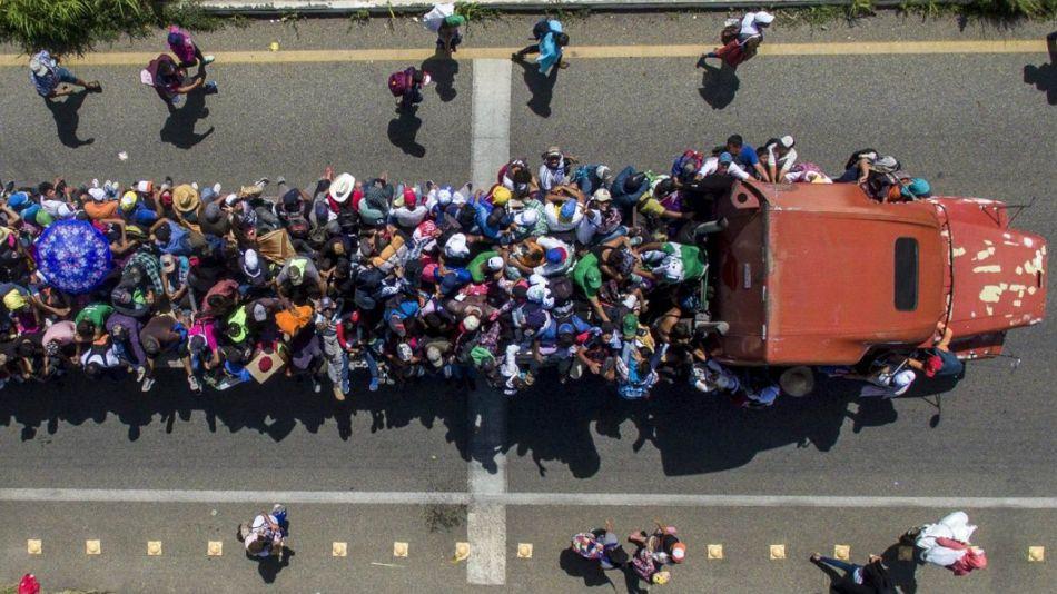 migrantes honduras mexico