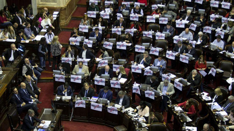 debate presupuesto diputados