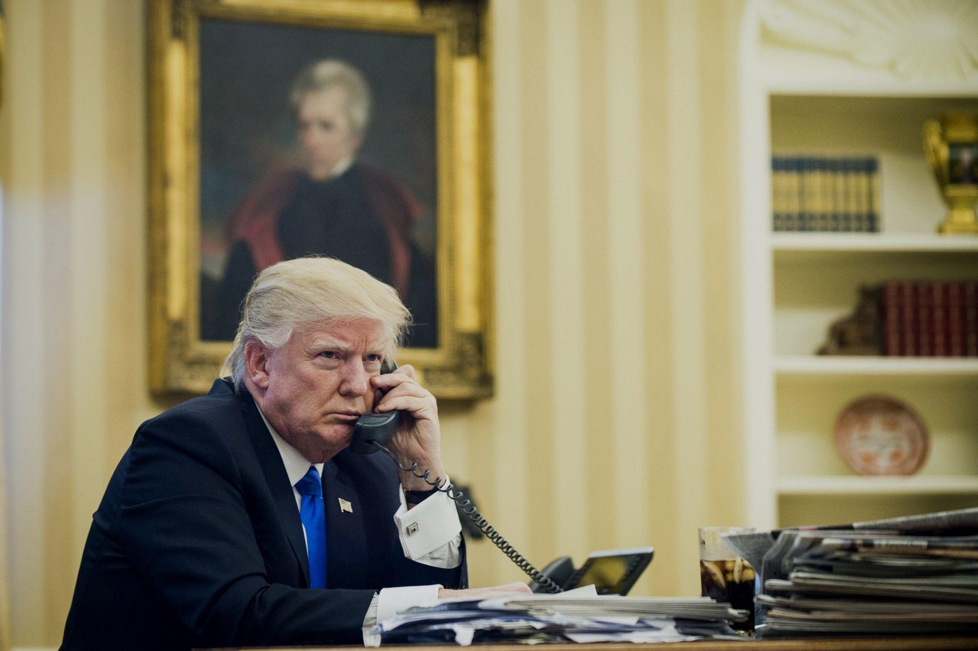 Donald Trump llamó a Alberto Fernández para felicitarlo por la elección del domingo