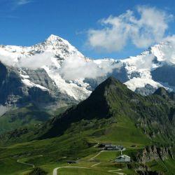 El Eiger (3970 m.) es una montaña mítica en el alpinismo por la dificultad de su Cara Norte.