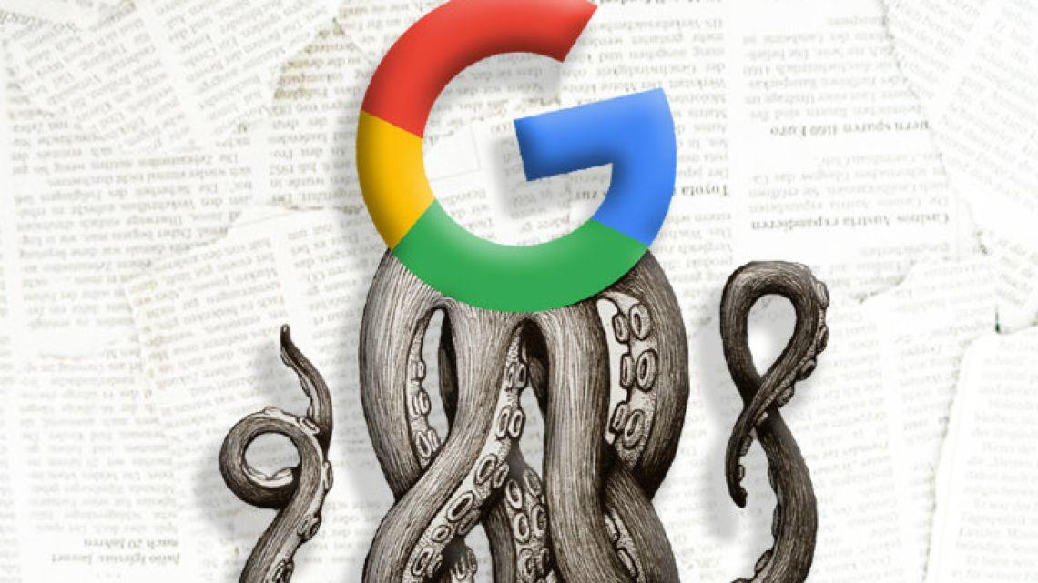 The Google monster.