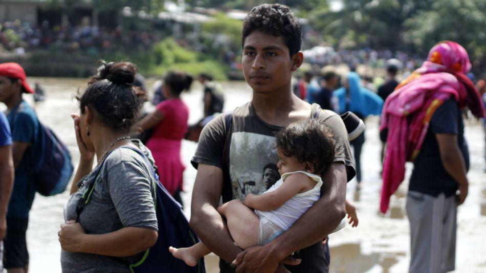 caravana migrante mexico eeuu