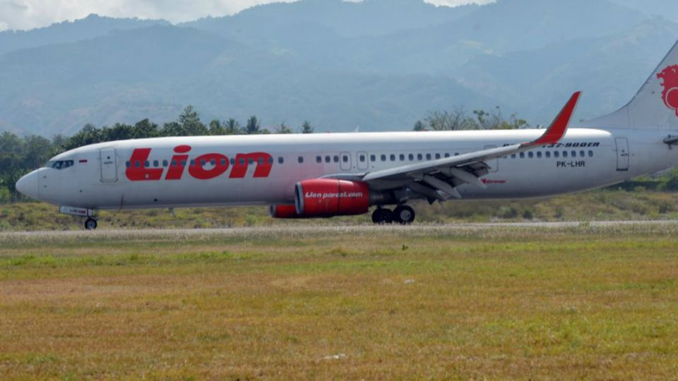 "Un avión de ""Air Lion"" se estrelló frente a las costas de Indonesia."