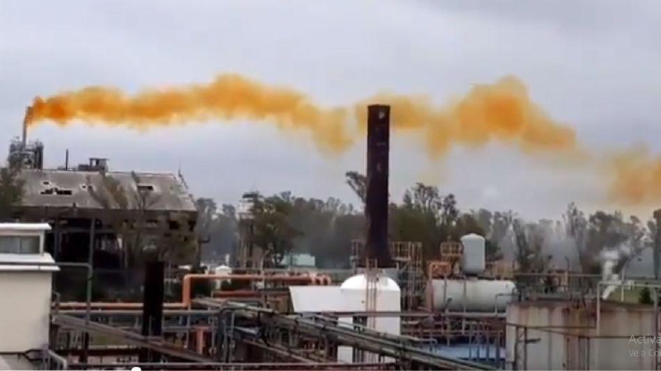 Escape de gas nitroso en Río Tercero