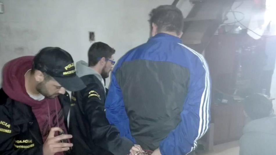 sospechosos detenidos en Tandil 10302018