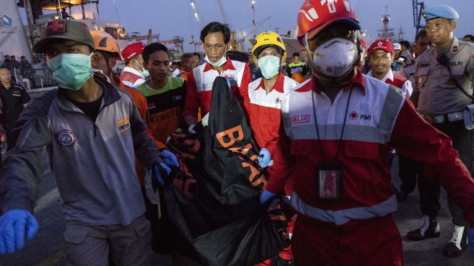 Reactions Following Lion Air Boeing Plane Crash in Indonesia