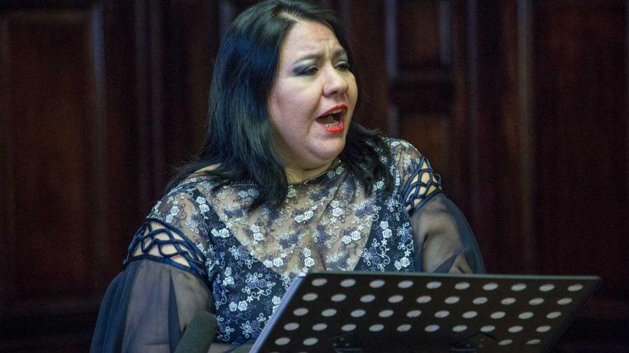La soprano Soledad de la Rosa.