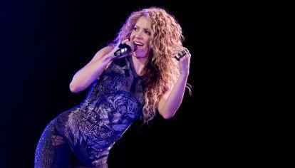 El show de Shakira en Buenos Aires.
