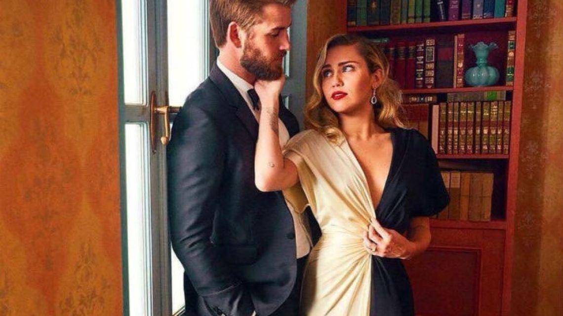 La reacción de Liam Hemsworth cuando se enteró que Miley Cyrus estaba con otra mujer