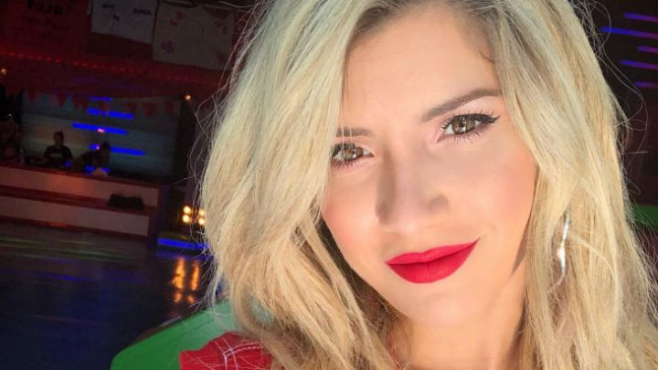 """La reacción de Laurita Fernández luego de que Bossi afirmara que le hizo """"guardia"""" con Hoppe"""