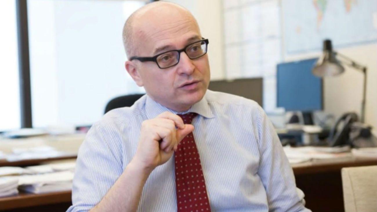 Roberto Cardarelli encabeza el equipo del FMI en la Argentina.