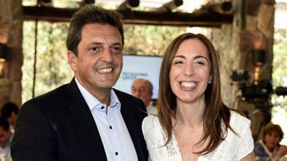 Sergio Massa y Eugenia Vidal