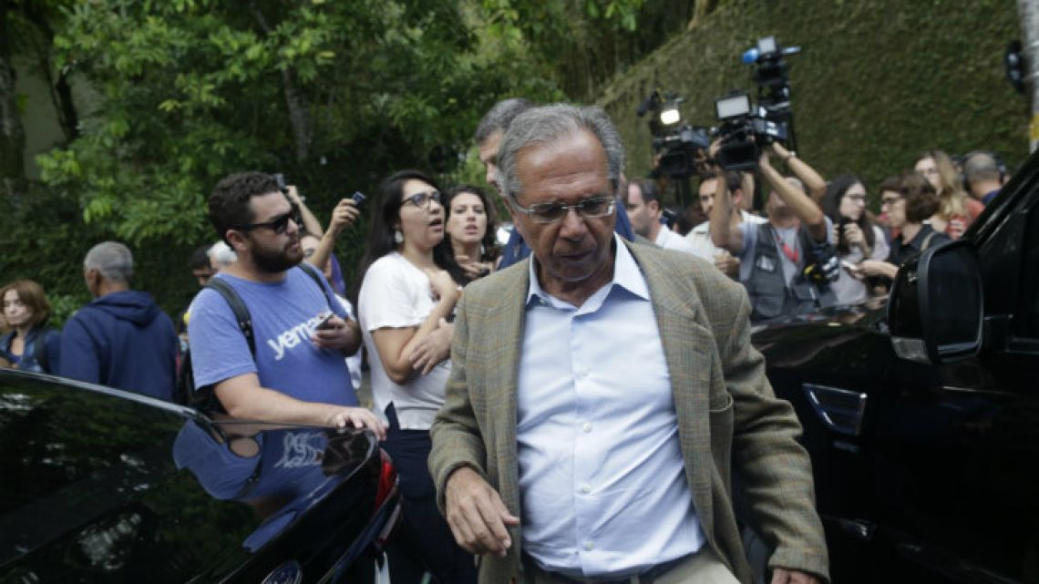 "Brazil's incoming finance minister, Paulo Guedes, said Argentina ""was not a priority."""