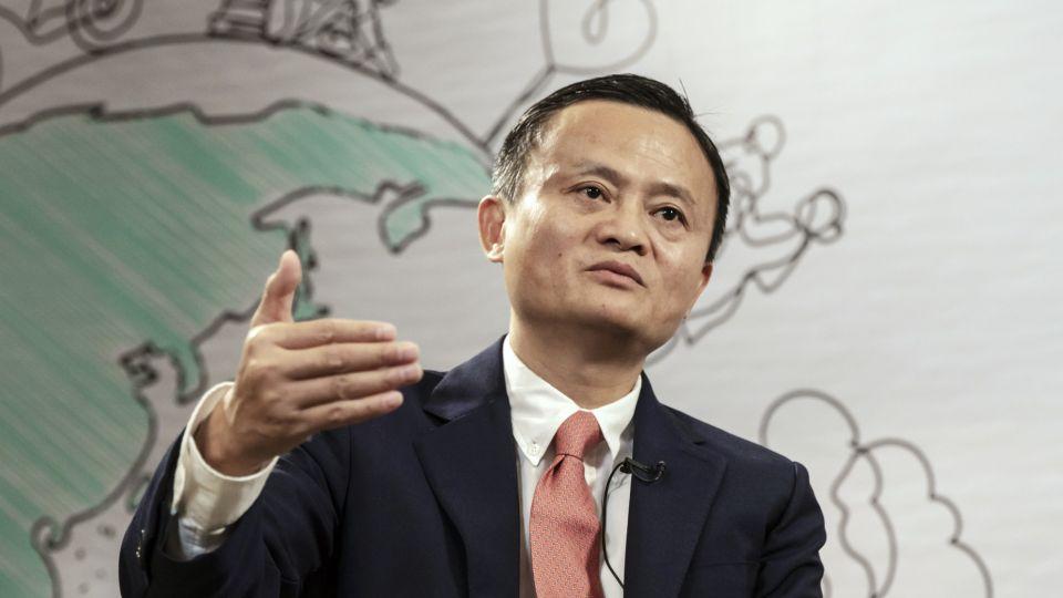 Jack Ma, ex CEO de Alibaba.