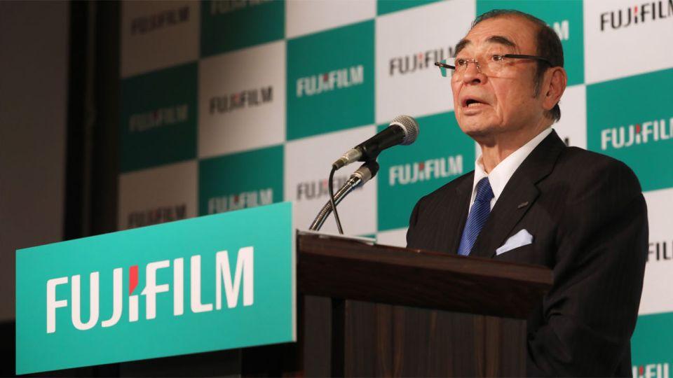 Shigetaka Komori, CEO de Fujifilm