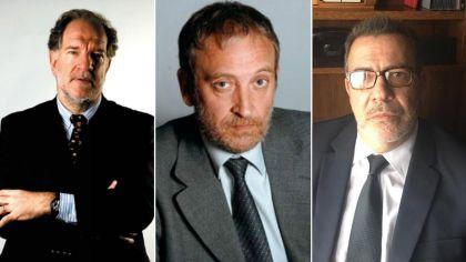Héctor D'Amico, Edi Zunino y Claudio Gurmindo 11072018
