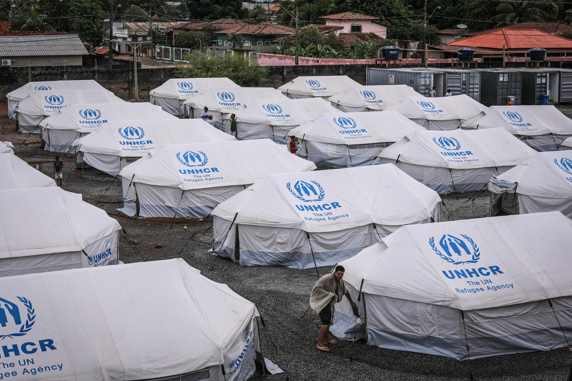 Brazilian Government And The United Nations Aid Venezuelan Immigrants As Crisis Continues