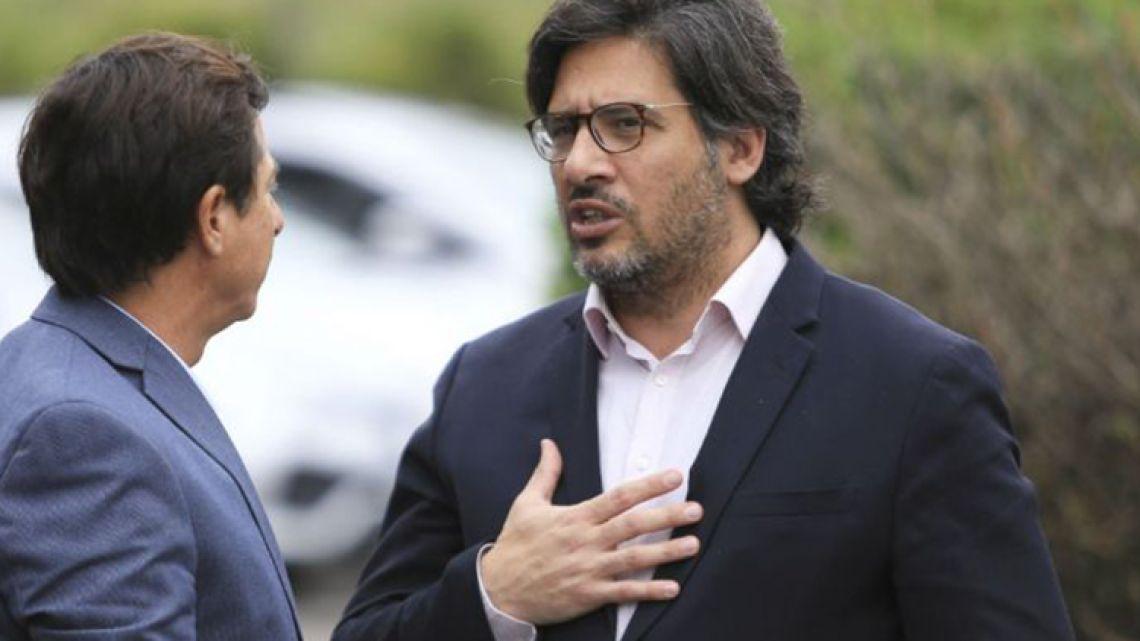 Justice Minister Germán Garavano.