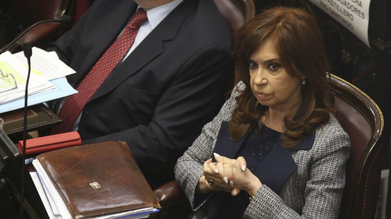 Cristina Kirchner culpó a Clarín y al Gobierno por el fallo de la Cámara Federal