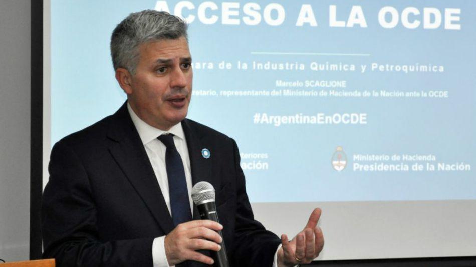 Marcelo Scaglione, el representante argentino ante la OCDE.