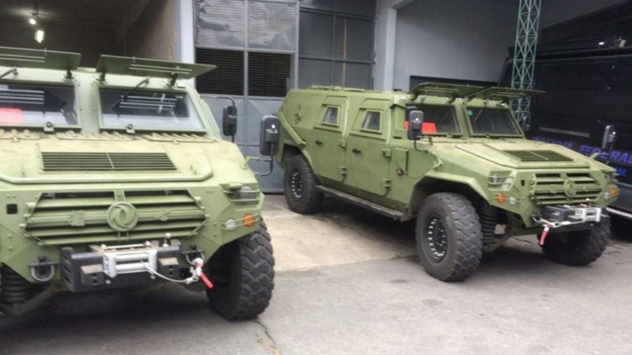 Los CSK131 fueron donados por China para la seguridad del G-20.