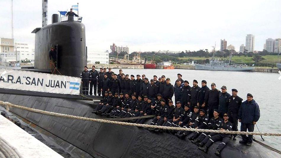 "submarino de la Armada Argentina ""ARA San Juan"