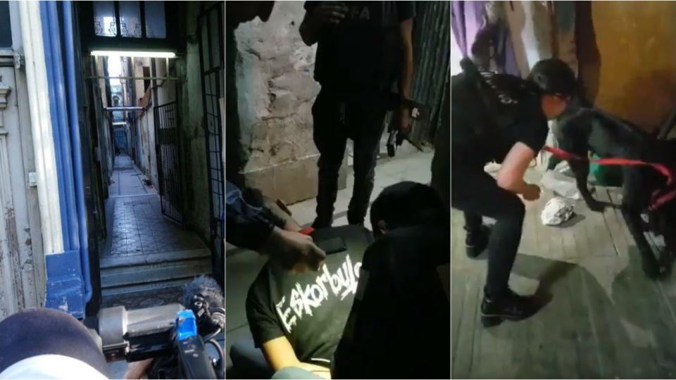 En el operativo se detuvieron a 10 personas.