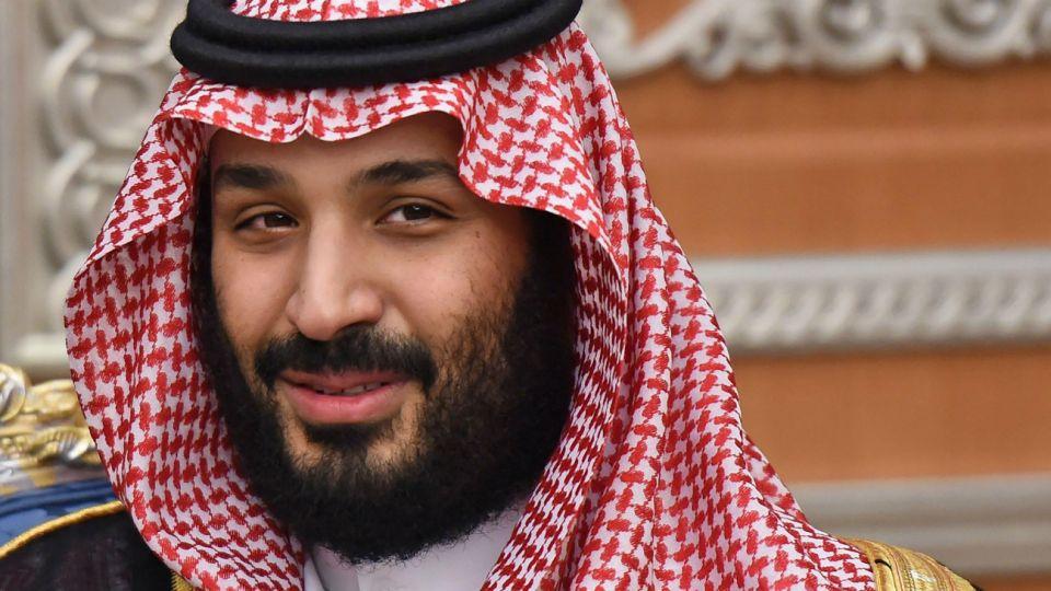 Mohammed, hijo y heredero del rey Salman.