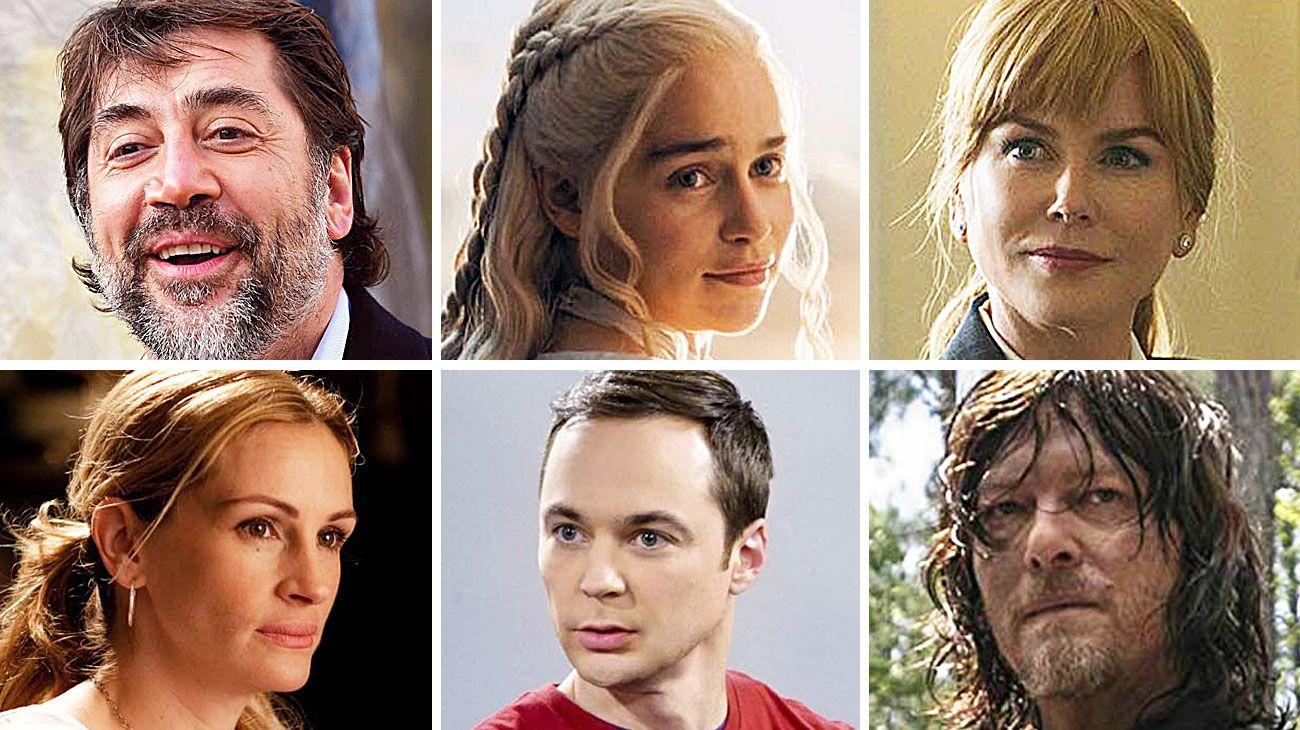 Apuestas. Bardem, el nombre por el que se juega Amazon. Kidman y Witherspoon cobran millones por Big Little Lies. Big Bang Theory termina porque uno de sus protagonistas creyó que el salario era poco.