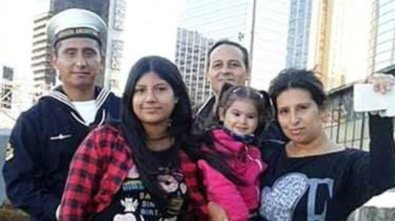 La familia Polo, parte de la tragedia del ARA San Juan.