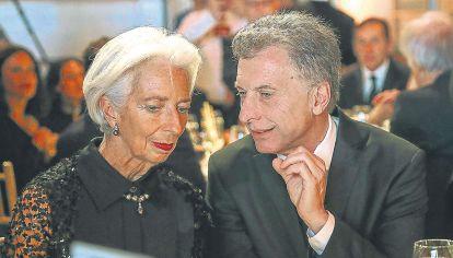 Legado de Macri. Quien gane en las elecciones de octubre deberá negociar con Lagarde y el FMI.