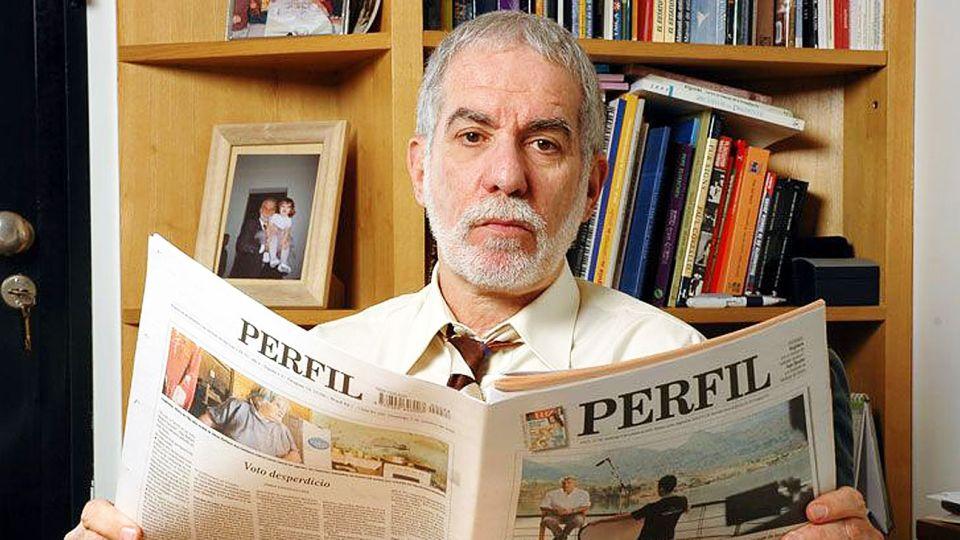 Eliaschev. Columnista destacado de PERFIL, se cumplen cuatro años de su muerte.