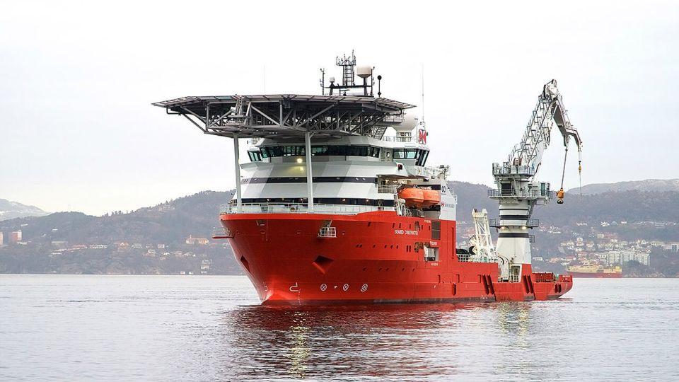 El buque Seabed Constructor de Ocean Infinity.