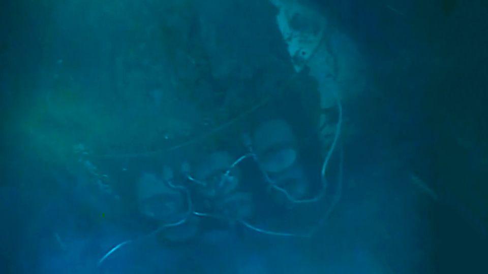 Las primeras imagenes del submarino ARA San Juan