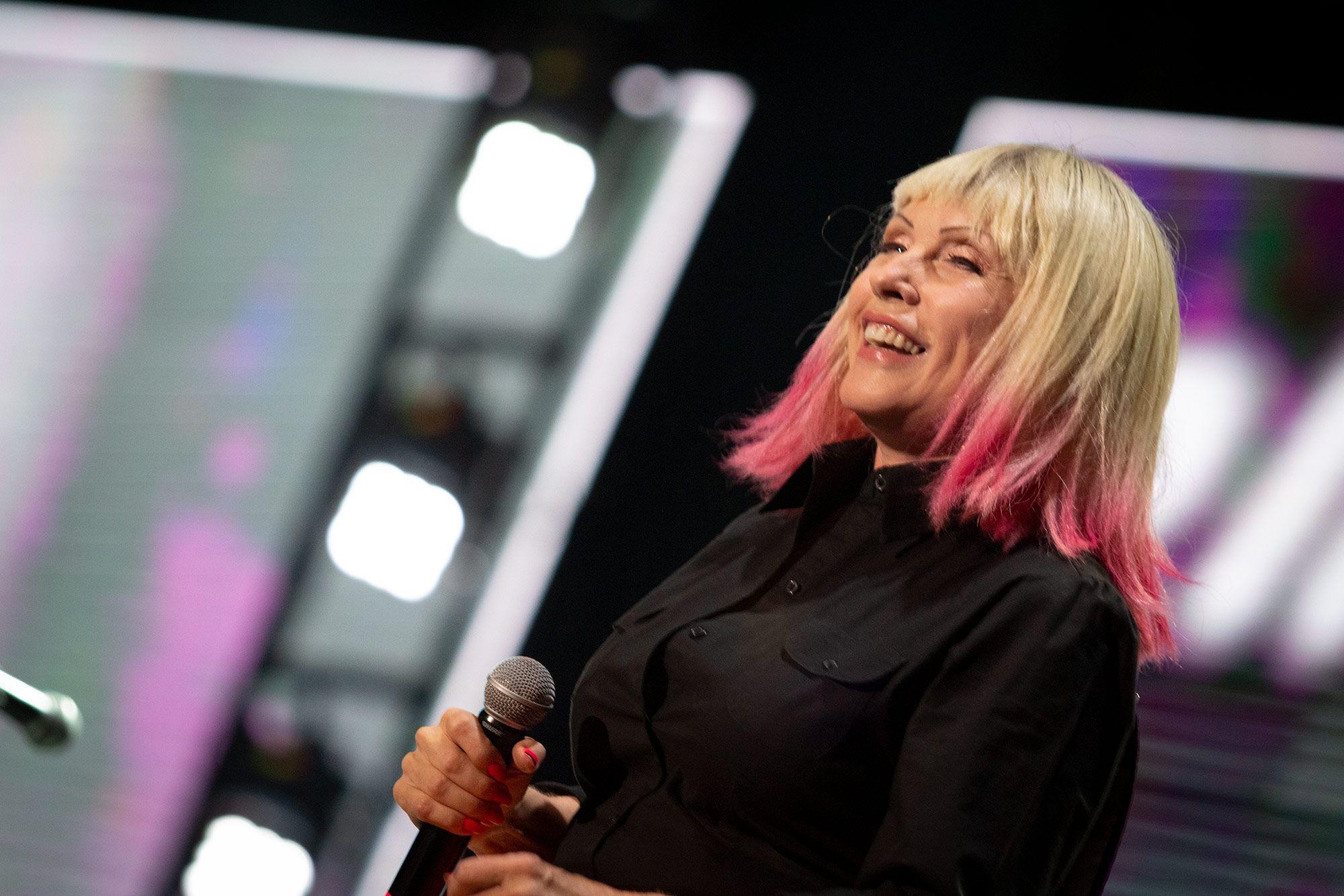 Blondie se presentó en el marco del Festival Rock and Pop 2018