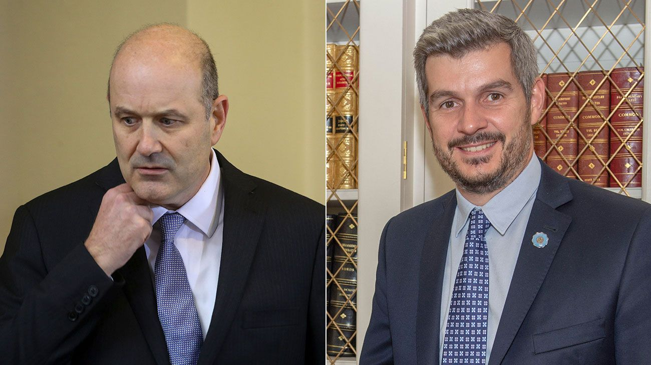 Federico Sturzenegger y Marcos Peña