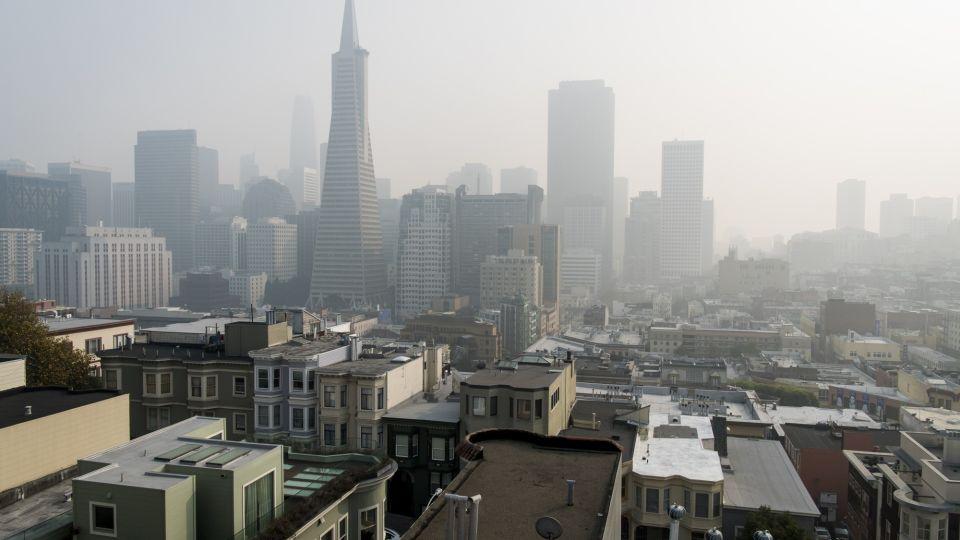 California Air Quality As Wildfires Burn