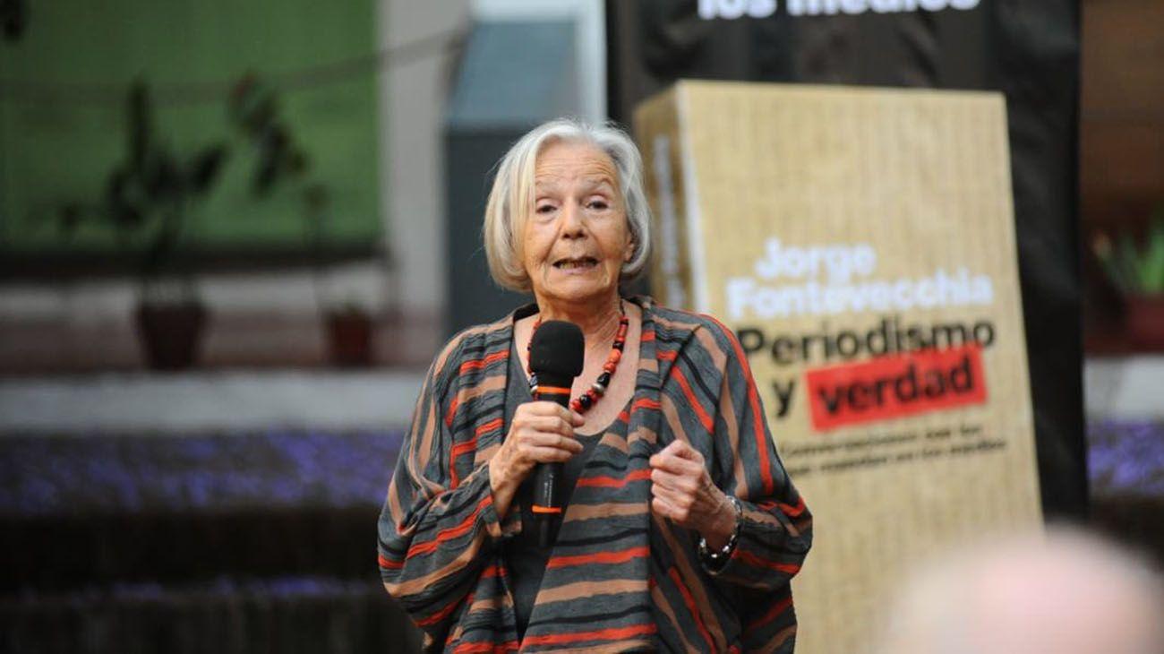 La reflexión de Beatriz Sarlo sobre las denuncias públicas en tiempos de #MiraComoNosPonemos