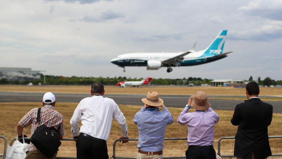 Opening Day Highlights At The 2018 Farnborough Airshow