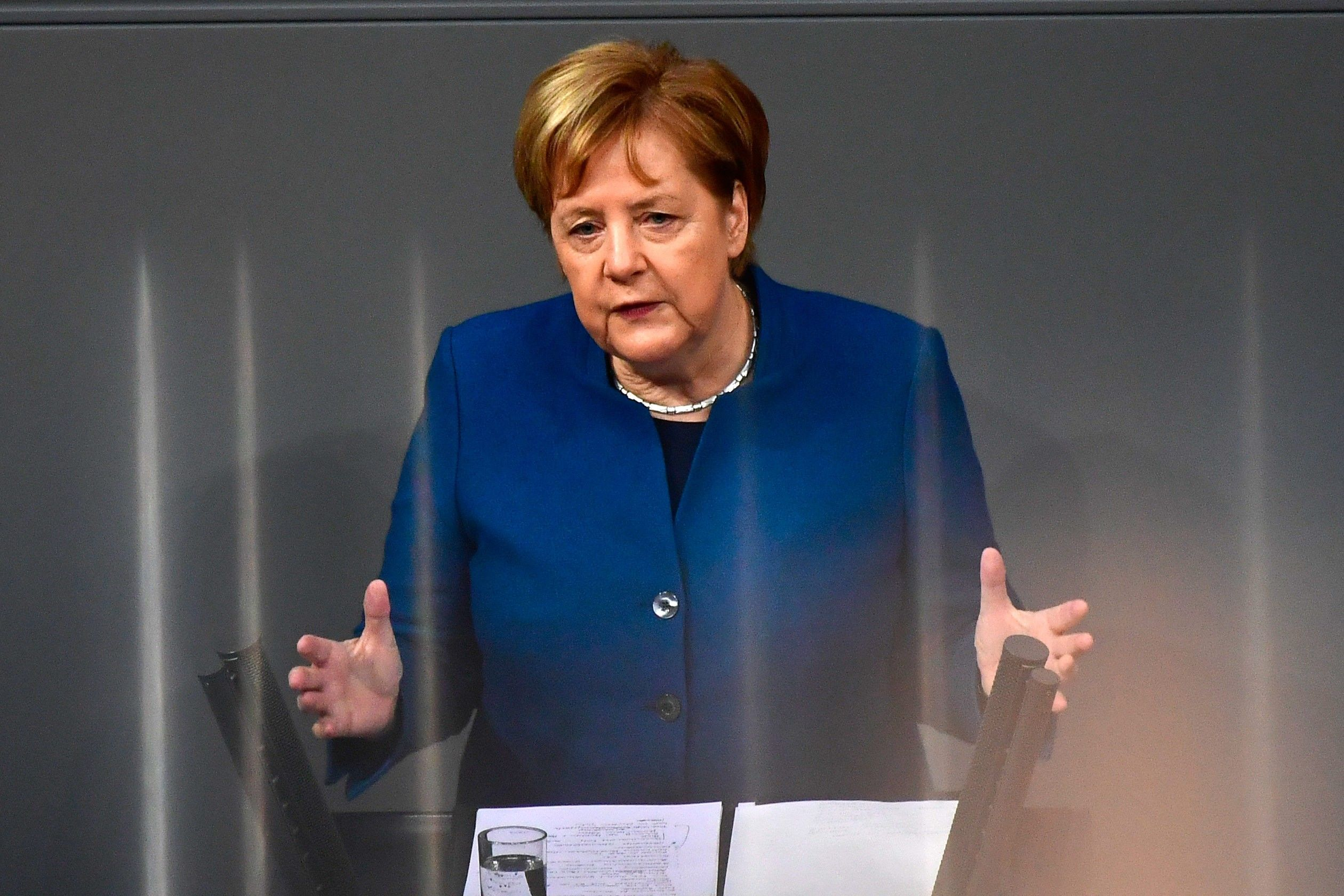 Merkel Warns U.K. It Can't Dictate Brexit Terms for EU Summit