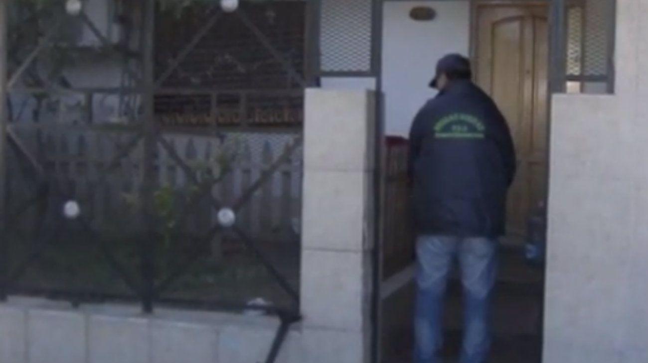Allanaron la casa de la joven Xiomara Ménedz, asesinada durante su secuestro.